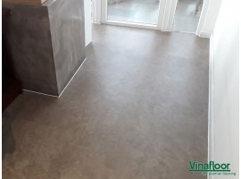 Công trình sàn nhựa giả đá 392/5 Ung Văn Khiêm
