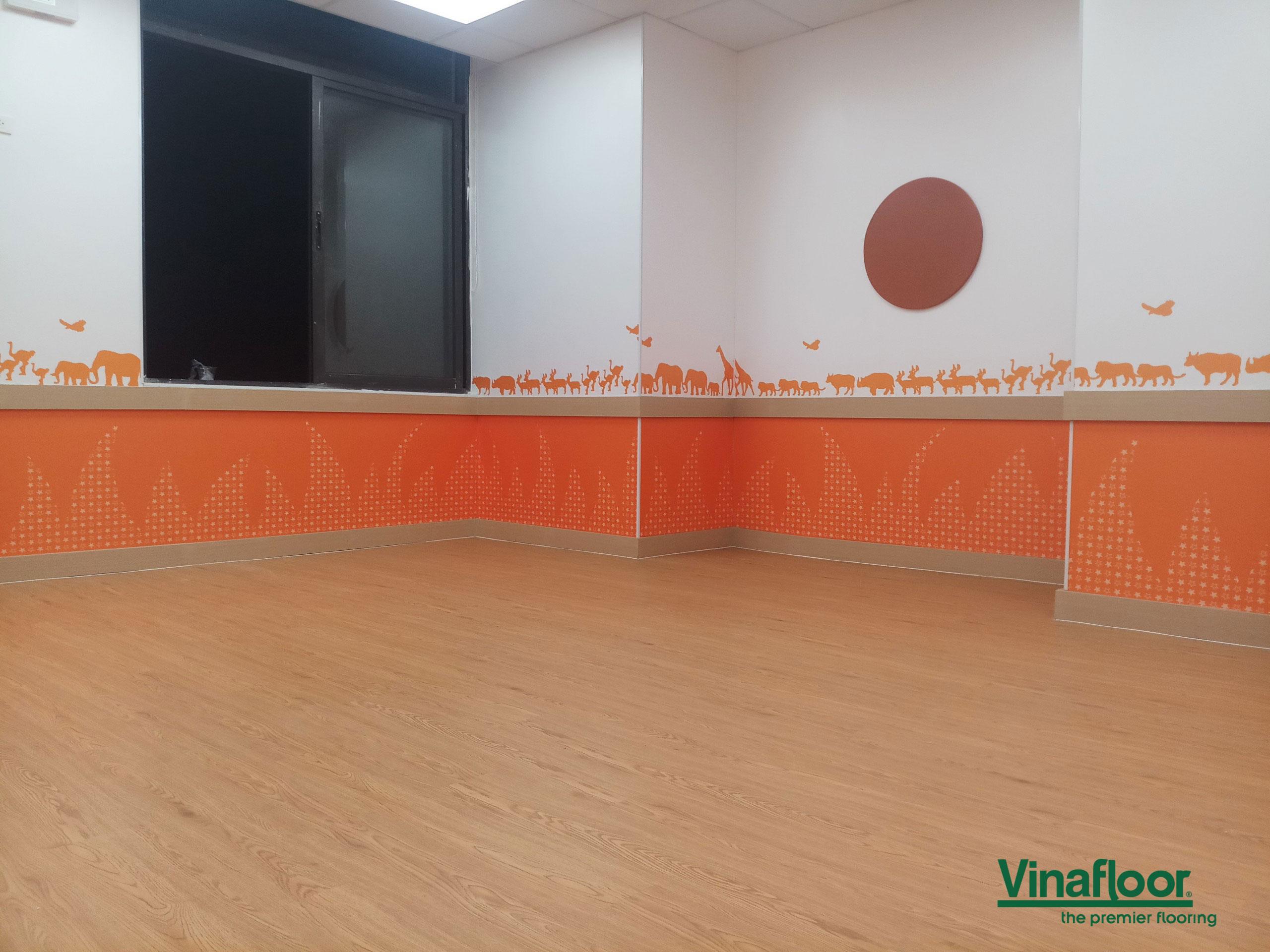 sàn nhựa giả gỗ dlw1008 Apollo Từ Sơn Bắc Ninh