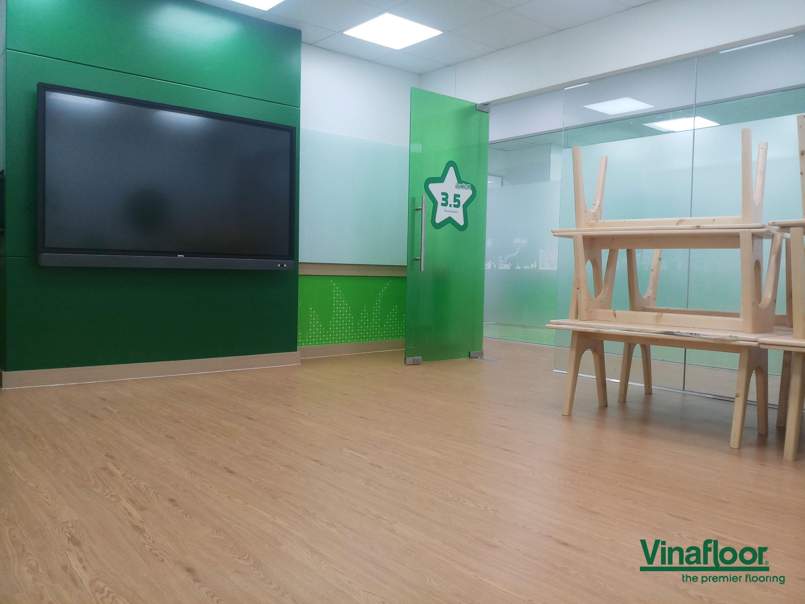 sàn nhựa vân giả gỗ dlw1008 Apollo Từ Sơn Bắc Ninh