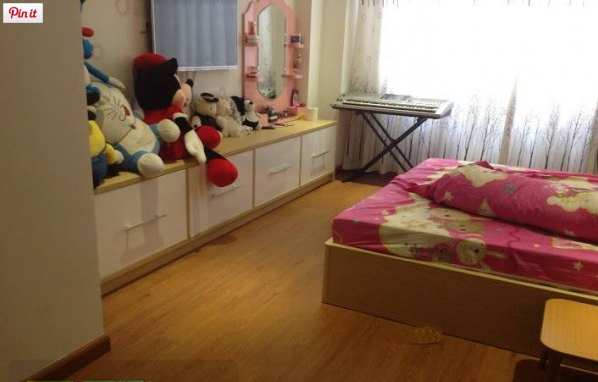 Sàn nhựa giả gỗ và phòng ngủ