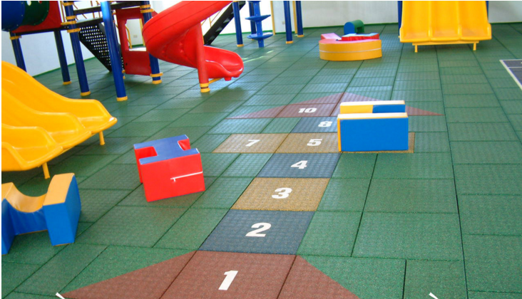 Sàn cao su cho nhà trẻ