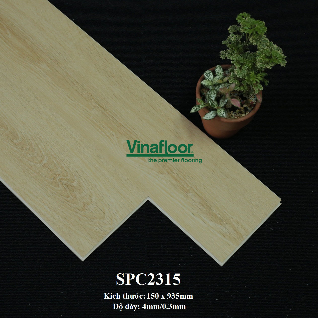 sàn nhựa giả gỗ SPC2315