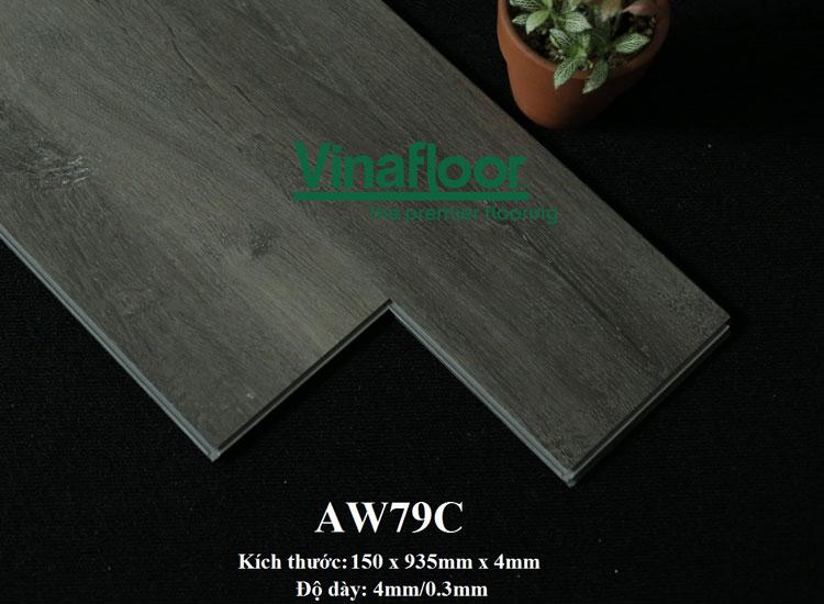 Sàn nhựa hèm khóa aw79c