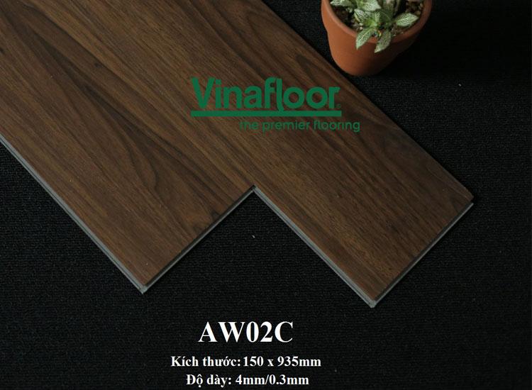 Sàn nhựa hèm khóa aw02c