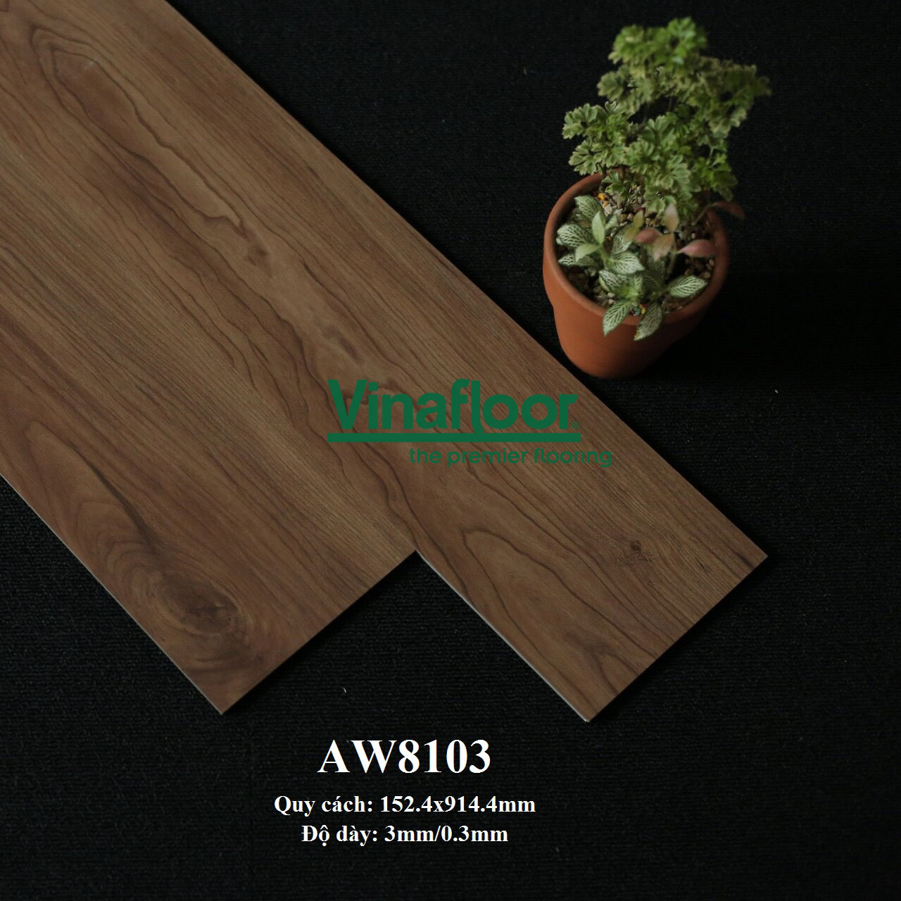 sàn nhựa giả gỗ AW8103
