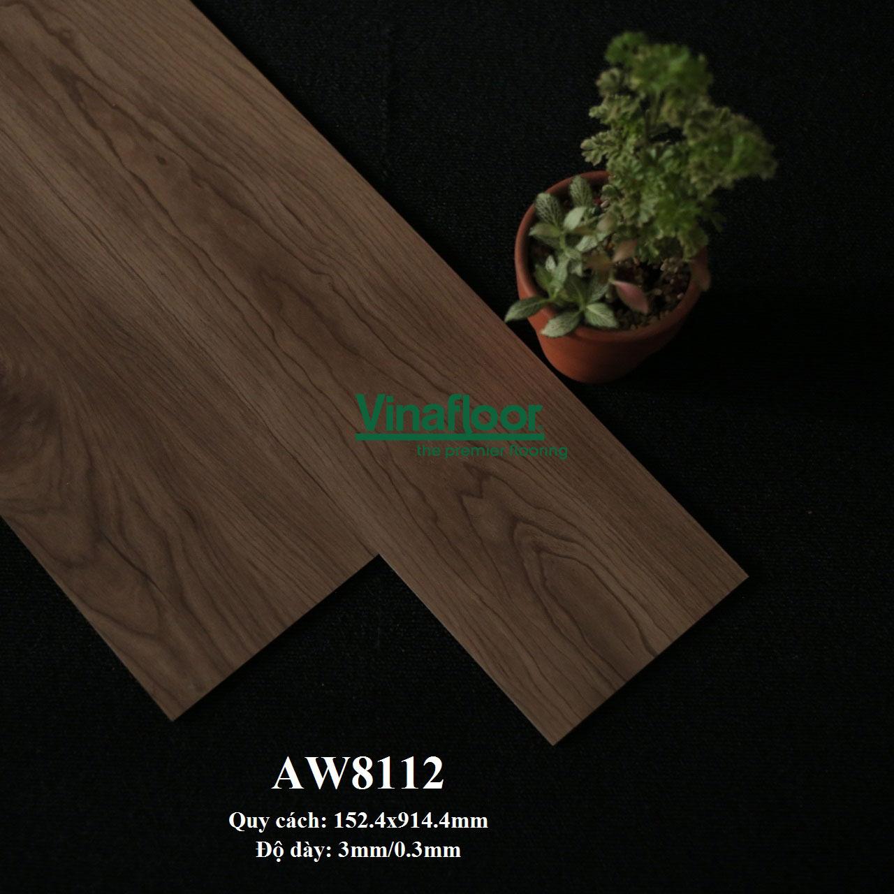 sàn nhựa giả gỗ AW8112