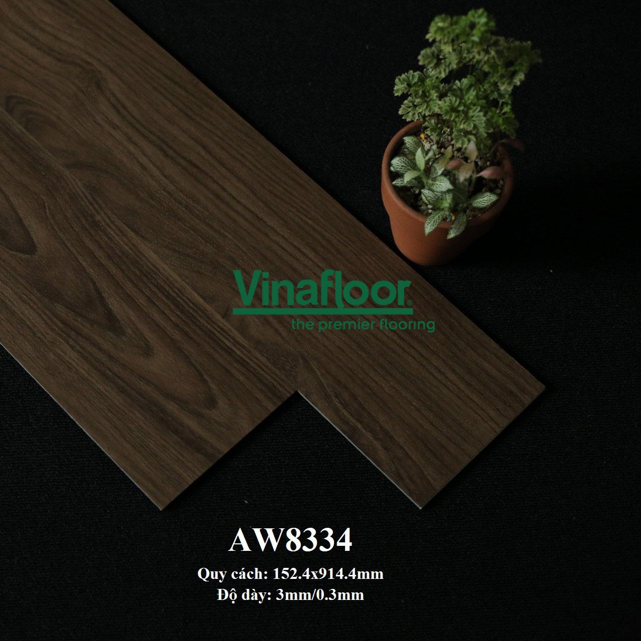 sàn nhựa giả gỗ AW8334